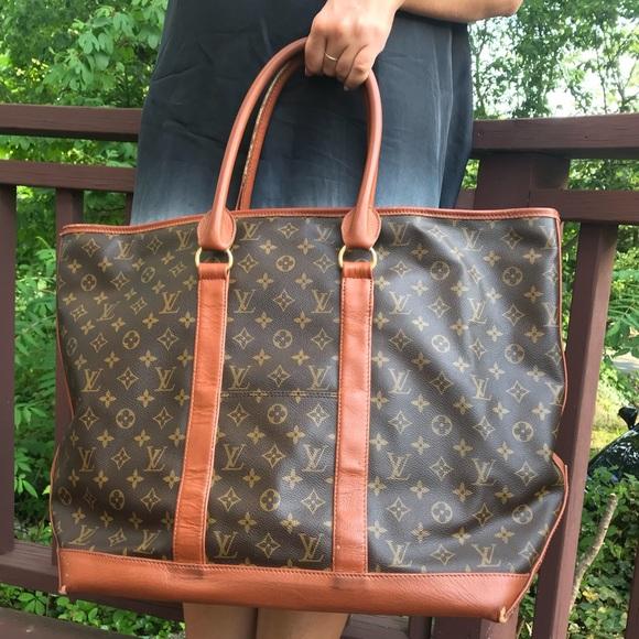 59f4c5fafa012 Louis Vuitton Handbags - Authentic Louis Vuitton Weekend Large Sac Tote